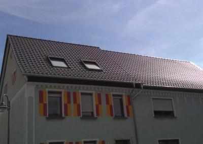 Neueindeckung Dach mit neuem Dachstuhl - Zweifamlienhaus in Baumholder (2) (Large)