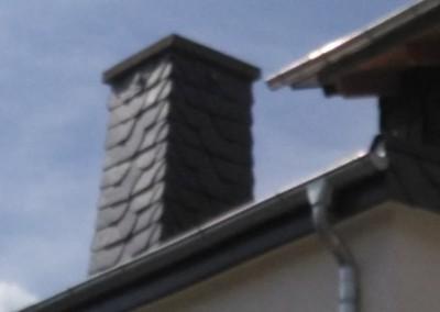 Neueindeckung Dach mit neuem Dachstuhl - Zweifamlienhaus in Baumholder (4) (Large)