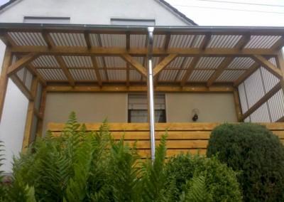 Terrassenübedachung Plexiglas (Small)