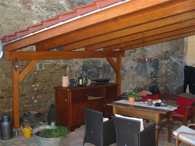 Terrassenueberdachung mediterian (Klein)