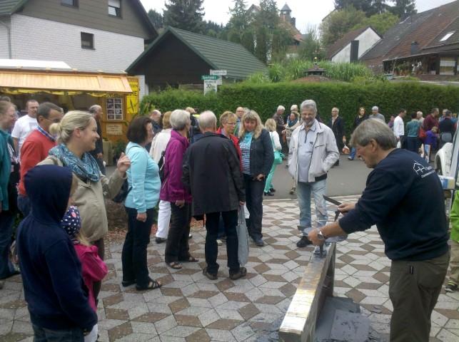 Auch diesjähriger Bauermarkt in Berglangenbach stieß wieder auf großes Interesse